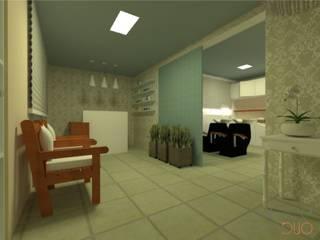 Projeto A|F Espaços comerciais clássicos por Office Duo Arquitetura e Interiores Clássico