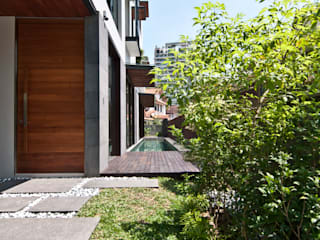 모던스타일 주택 by ming architects 모던