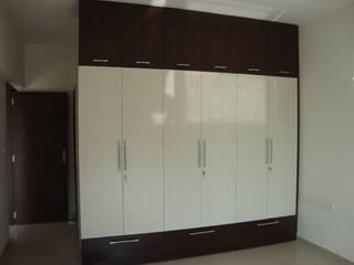 Kitchen-cupboard Modern style bedroom by SNA Vastu Infradesign Modern