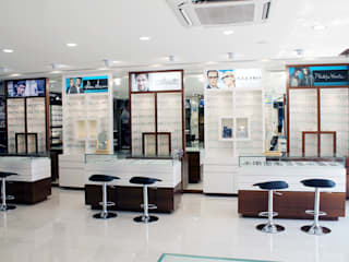 Eyewear Section:  Commercial Spaces by ServiceBELL Solutions PVT Ltd