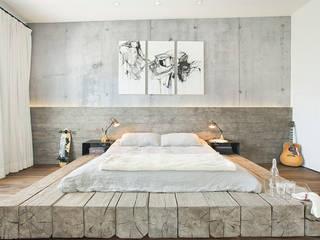 Evinin Ustası Industrial style bedroom