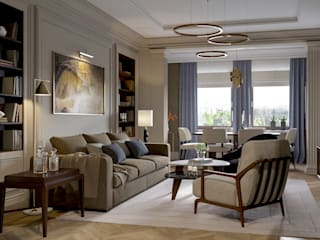 Classic style living room by COUTURE INTERIORS Classic