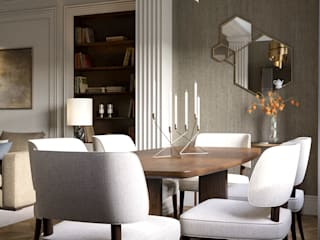 Classic style dining room by COUTURE INTERIORS Classic