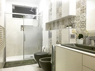 Eclectic style bathroom by Alessandro D'Amico Eclectic