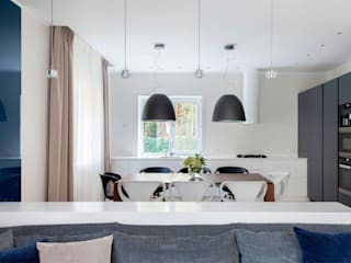 Modern dining room by Telnova Julia Modern