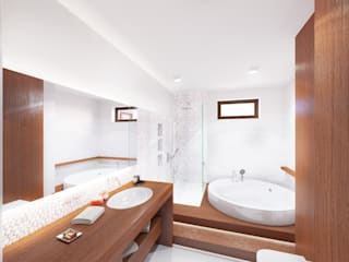 Modern bathroom by BAZYLIKON Modern