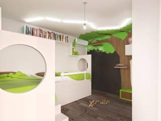 Modern nursery/kids room by BAZYLIKON Modern