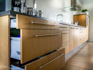 Joep Schut, interieurmaker Modern kitchen Wood Wood effect