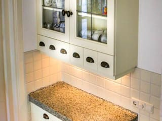 Joep Schut, interieurmaker Country style kitchen Wood Wood effect