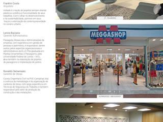 ÁREA DE DESCOMPRESSÃO DO SIND. TRABALHADORES DA CONSTRUÇÃO CIVIL DE SÃO PAULO: Escritórios  por ELLO ARQUITETURA E CONSTRUÇÃO LTDA.,Moderno