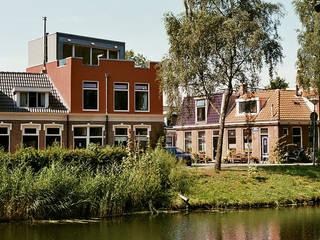 Verbouw woning Groningen:  Huizen door Architectenburo Holtrop, Modern