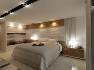 Suite Master por Sabino Móveis e Decorações Moderno