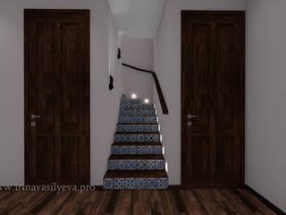 Corredores, halls e escadas ecléticos por Irina Vasilyeva Eclético
