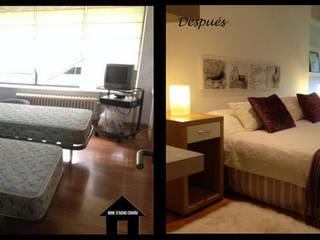 Dormitorio:  de estilo  de HOME STAGING CORUÑA