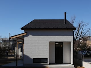 Scandinavian style houses by 加門建築設計室 Scandinavian