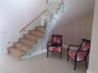 sezgin inşaat-mobilya – MERDIVEN: modern tarz Koridor, Hol & Merdivenler