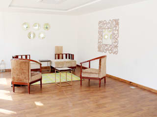 Waiting Area:  Commercial Spaces by ServiceBELL Solutions PVT Ltd