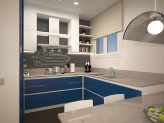 ห้องครัว โดย GMV Graph - Studio Tecnico di geom. Marco Luca Villa, โมเดิร์น