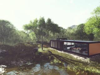 LOFT 002 Casas minimalistas por Cornetta Arquitetura Minimalista
