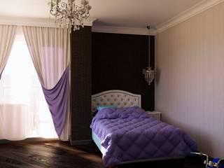 Дизайн-проект квартиры «Снегири»: Спальни в . Автор – Дизайн-бюро «Линия стиля»