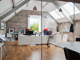 Modern Architects Office by slemish design studio architects
