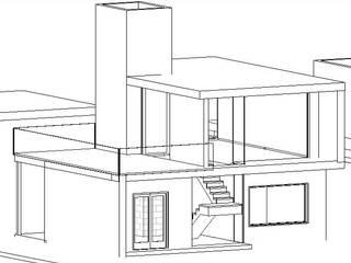 VIVIENDA SUSTENTABLE LOS MOLINOS CORDOBA: Casas de estilo moderno por BIM ARCH SERVICES