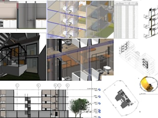 EDIFICIO VENTUS: Casas de estilo  por BIM ARCH SERVICES