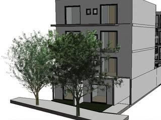 EDIFICIO VENTUS: Casas de estilo moderno por BIM ARCH SERVICES