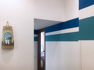 archielle Vestíbulos, pasillos y escalerasAccesorios y decoración Azul