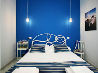 archielle Eclectic style bedroom Blue