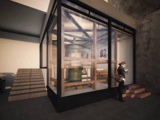 Sismo Gallery Estudios y despachos modernos de FUNDAMENTAL Moderno