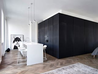 INT2architecture Kitchen Black