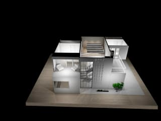 Estudio AL - Arquitectura-Diseño Interior: modern tarz , Modern