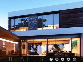 CATUJANES/L2/MEX Casas modernas de MONACO GRUPO INMOBILIARIO Moderno
