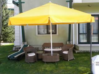 Akaydın şemsiye Garden Accessories & decoration Aluminium/Zinc Yellow