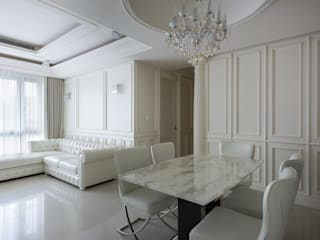 Dining room by 直譯空間設計有限公司, Classic