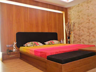 Modern style bedroom by Shadab Anwari & Associates. Modern