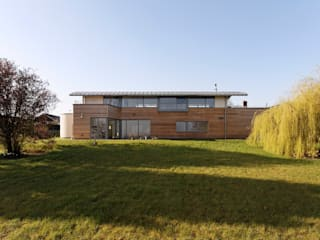 Gwernevy House Baart Harries Newall Modern houses Wood