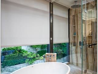 Sea Casa Another Design International Modern bathroom Glass
