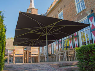 Solero Basto commercial parasol 5x5m: modern  by Solero, Modern