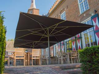 Solero Basto commercial parasol 5x5m:   by Solero
