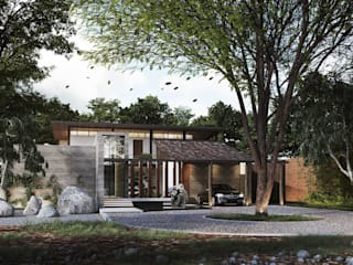 BAAN CHIANGRAI:   by Pure Architect Co., Ltd.