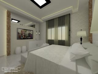 Bedroom by Aline Monteiro ,