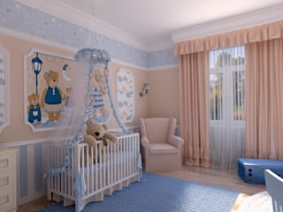 Nursery/kid's room by Дизайн Студия Леоновой Натали