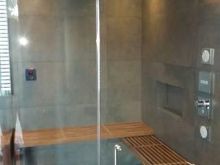 Cabina de Vapor y ducha.: Baños de estilo  por ebanisART Espacio y Concepto