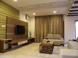 Residential projects: modern  by Antarangni Interior p ltd,Modern