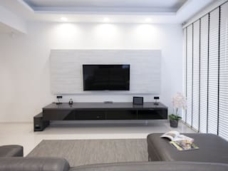 soo chow graden Modern living room by Renozone Interior design house Modern