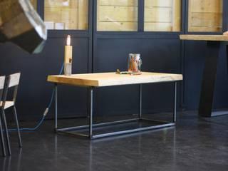 Table basse - AXIS - Bois massif, Live-edge, Bords bruts:  de style  par AG¨ / AGtrema