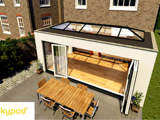 Skypod Skylights: modern Conservatory by Premier Roof Systems