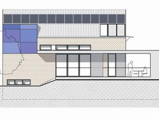 CASA UNIFAMILIARE Case moderne di Rina Agostino Architetto Moderno